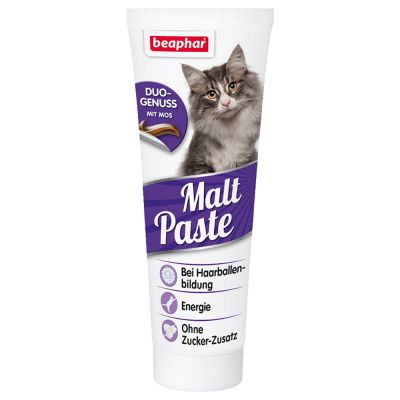 beaphar-malt-paste-antihairball-τριχομπαλες